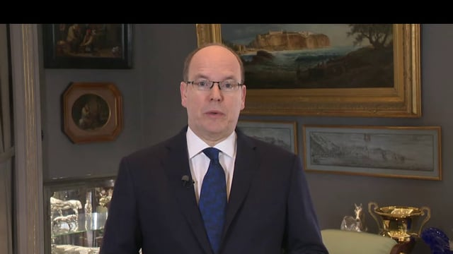 7eme conference - Son excellence le prince Albert de Monaco - MESSAGE SAS PATRIMOINE